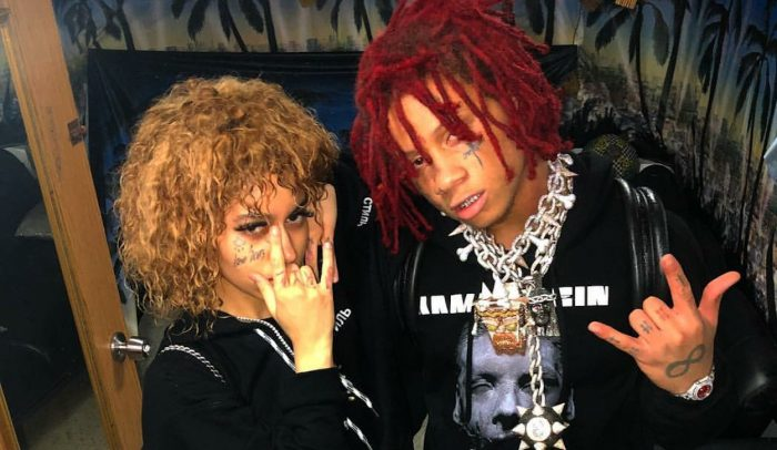 Trippie Redd Back With Ex-GF Despite After She Links With