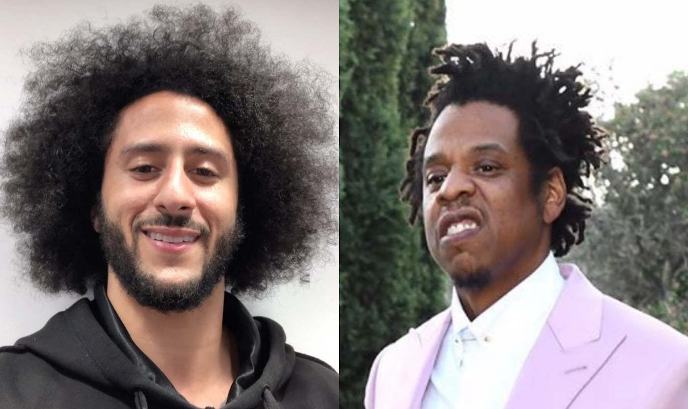 Colin Kaepernick Calls Out Jay Z Beyonce For Sitting During National Anthem At Super Bowl Urban Islandz