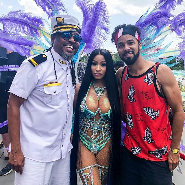 Nicki Minaj Shows Off Her Curves In Sexy Costume Amid Pregnancy Rumors