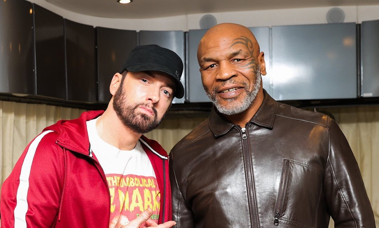 Eminem Tells Mike Tyson About His Daughter Hailie