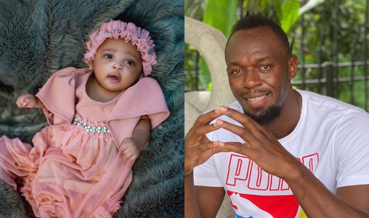 Usain Bolt reveals daughters name, shares baby photos on girlfriends birthday
