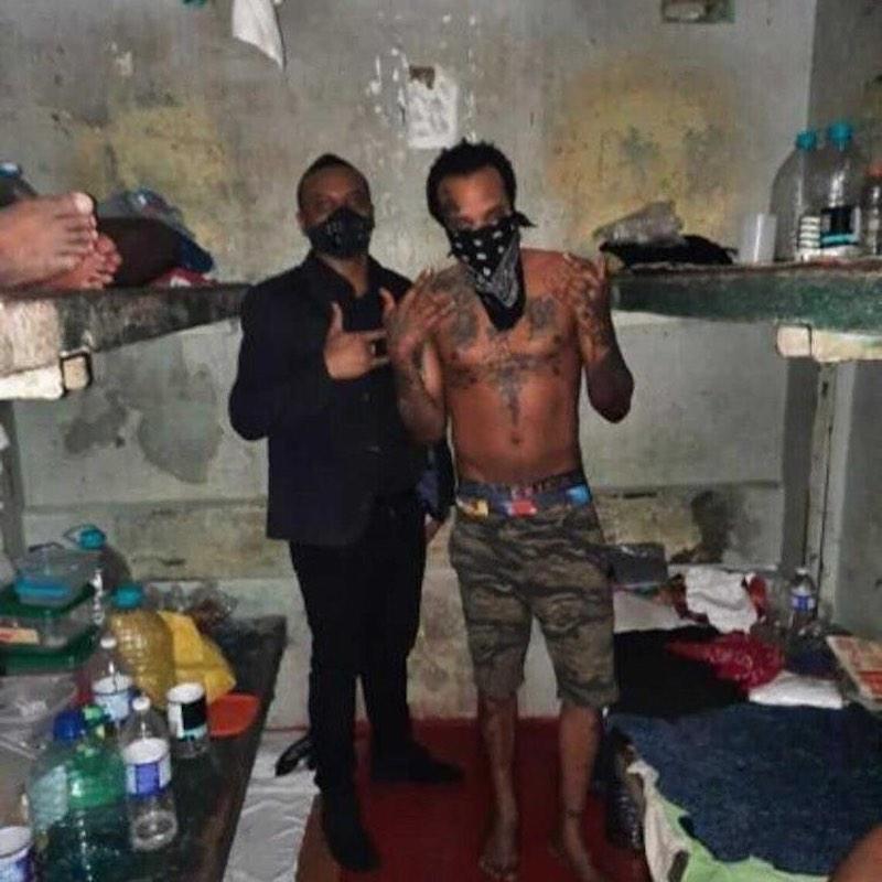 Tommy Lee Sparta in prison