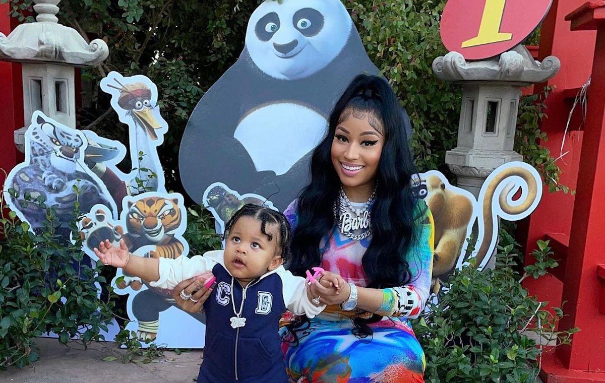 Nicki Minaj Hosts Kung Fu Panda-Themed Birthday Party For Papa Bear - Urban  Islandz
